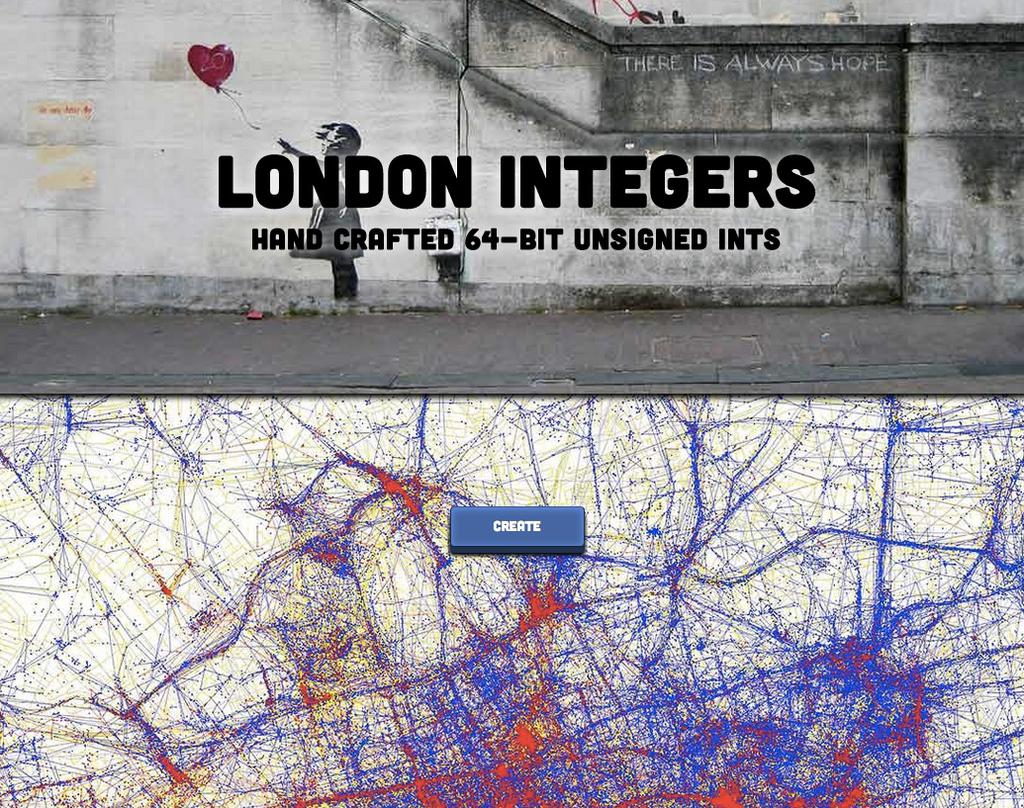 Screenshot of London Integers