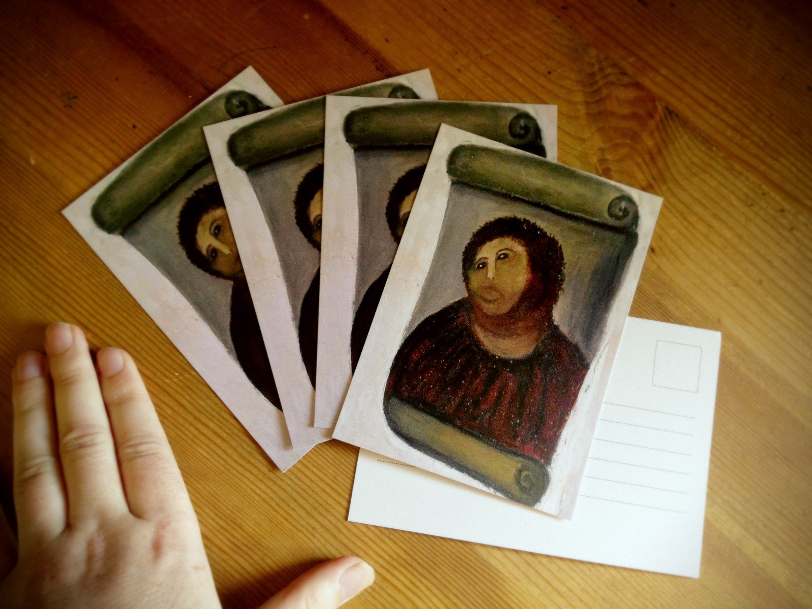 Ecco Homo postcards