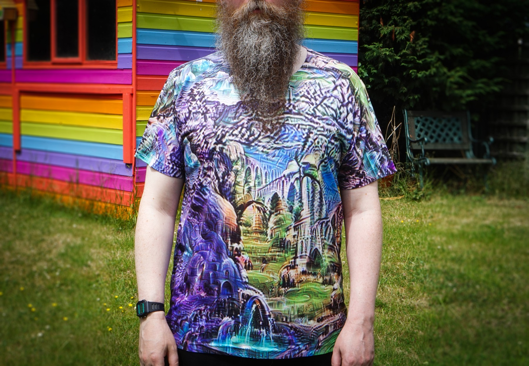 The deep dream t-shirt