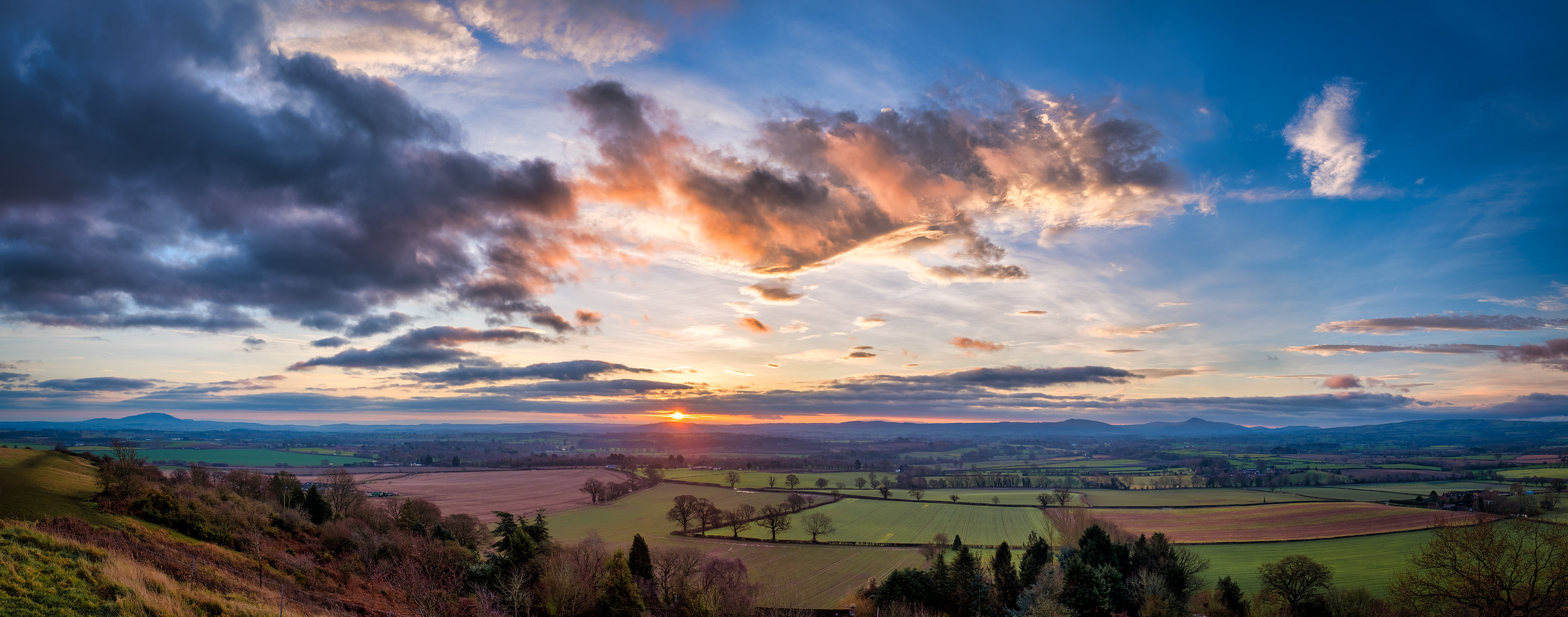 Sunrise at Lyth Hill